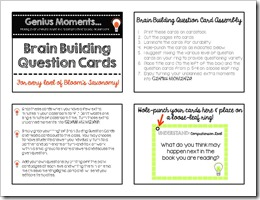 Brain Building Question Cards.Middle School.3