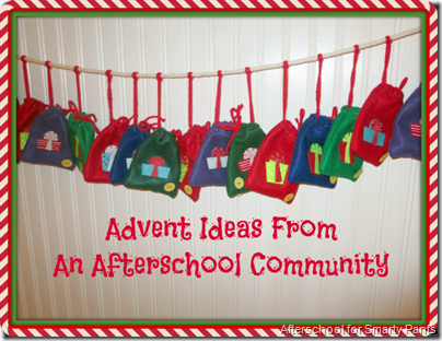 Afterschool Community: Advent Ideas Roundup