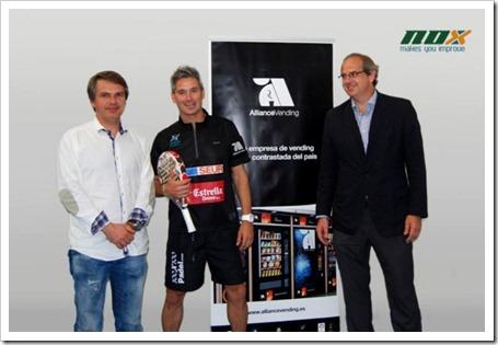 Allliance Vending nuevo esponsor de Miguel Lamperti, acuerdo con JJ Ballvé Sports S.L.