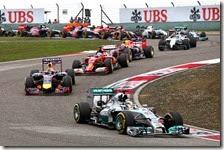 Hamilton vince il gran premio della Cina 2014