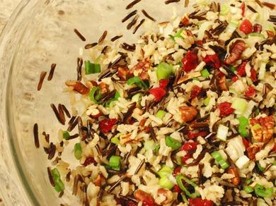Cranberry Pecan Wild Rice 5