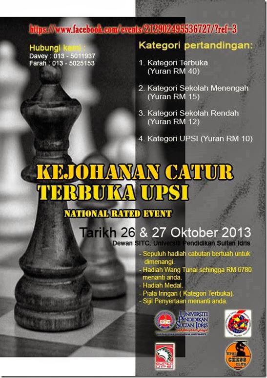 UPSI OPEN 2013 -26-27okt2013
