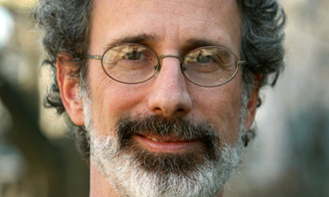 Peter Gleick's face was on mugs at the Heartland Institute's 2012 climate conference. Paul Chinn / The Chronicle