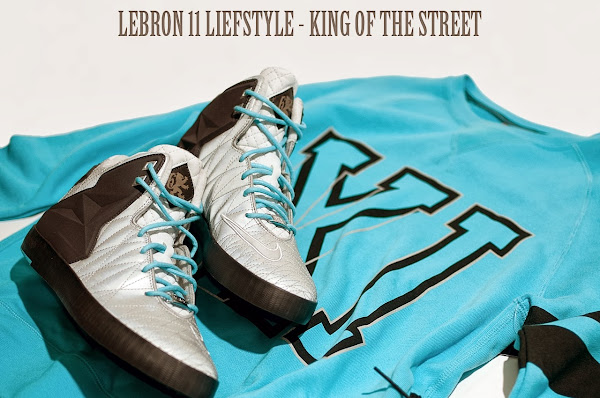 A Look at Nike LeBron XI NSW Lifestyle 8220King of the Streets8221