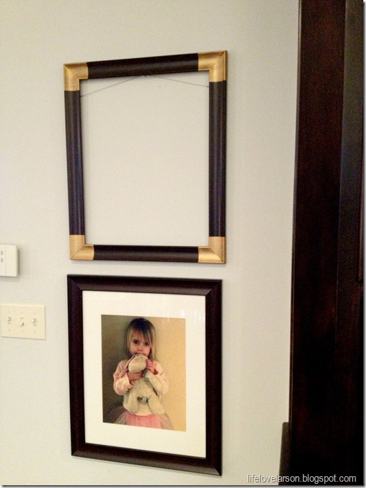 Corner Photo Frames life love larson: diy: gold corner frames
