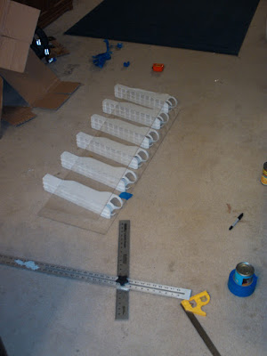 Assembled Can Roller Rack