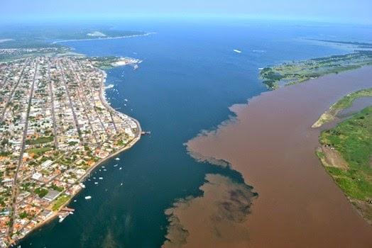 Encontro das Águas, Santarem - Parà