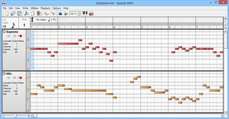 Speedy MIDI Editor