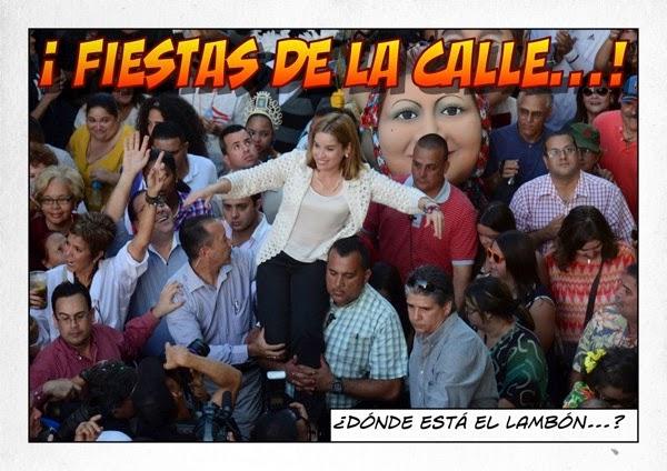 Fiestas de La Calle  Busca al Lambón