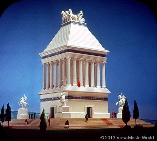 View-Master The Seven Wonders of the World (B901), Scene 6: Tomb of Mausolus, Halicarnassus