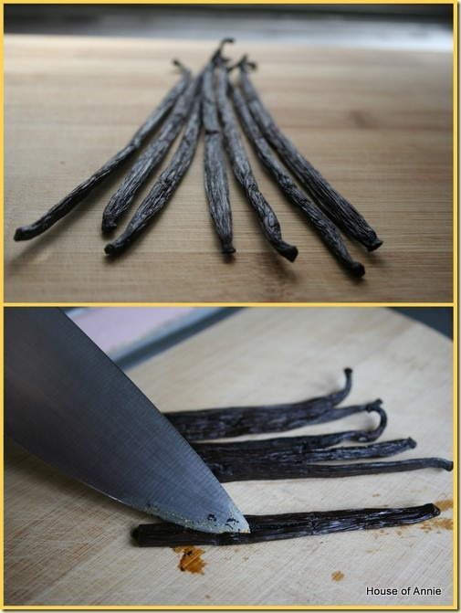 Vanilla Beans for Making Extract