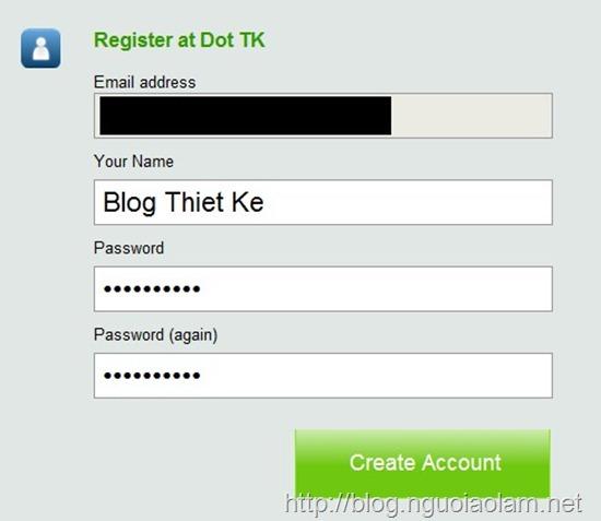 Blog thiết kế - Đăng ký và sử dụng tên miền dot.tk phương án tối ưu cho blog bị VNPT chặn