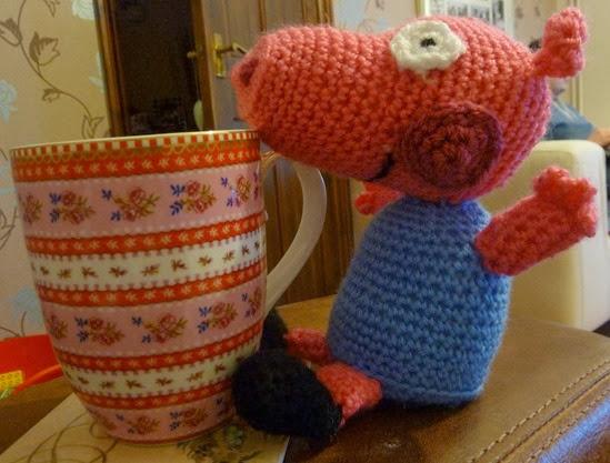 Get off my tea Pig!