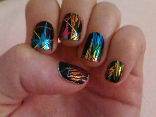 Cool nail polish designs nail designs hair styles tattoos and fashion heartbeats Cool nail design ideas at home