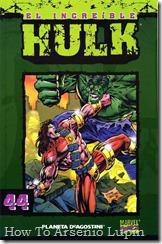 P00044 - Coleccionable Hulk #44 (de 50)