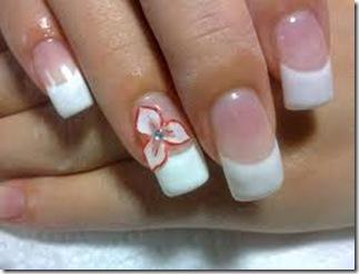 diseños de uñas naturales sencillos 2013