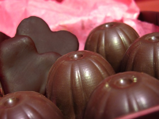 Quince Hearts and Nutella Hazelnut Bon Bons