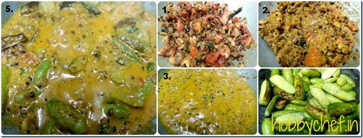Kerala Curry collage