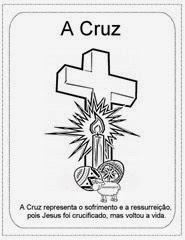 pascoa cruz simbolo