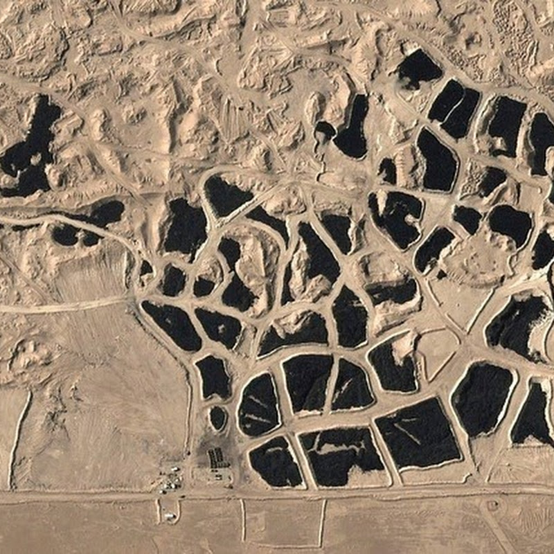 World's Biggest Tire Graveyard in Sulabiya, Kuwait