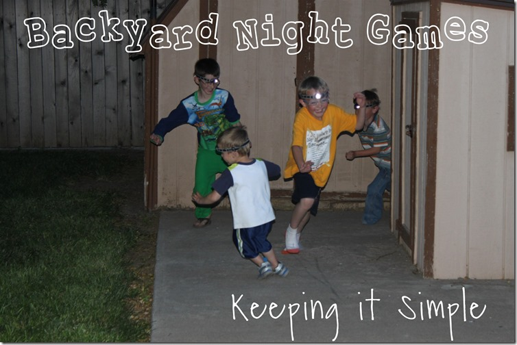 backyard games