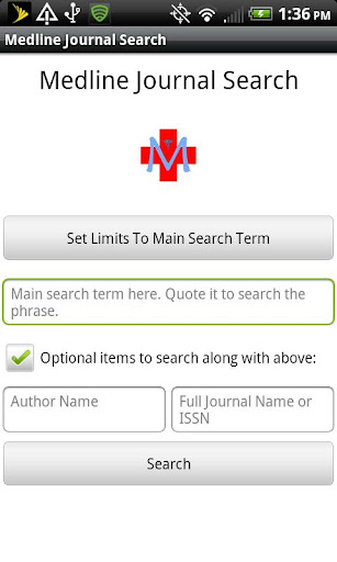 Medline Journal Search
