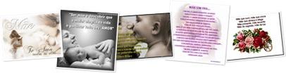 Exibir Frases imagens e textos para mães