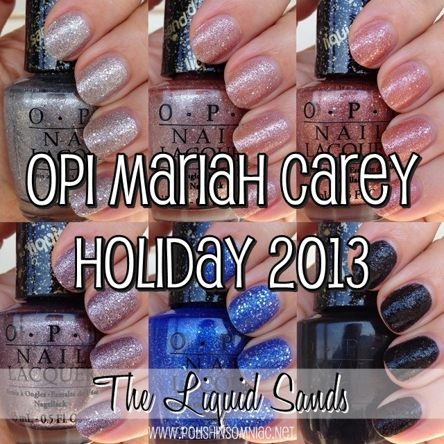 OPI Mariah Carey Holiday - The Liquid Sands