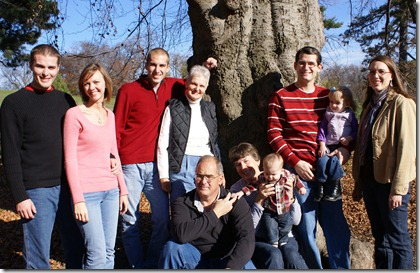 Godby Family Pictures at Owl's Head Park