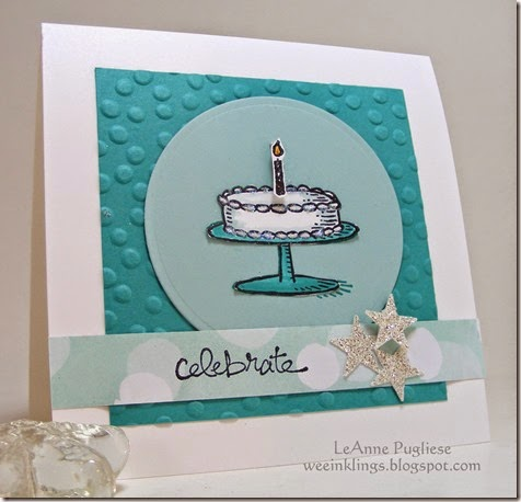LeAnne Pugliese WeeInklings Stampin Up Big Day Birthday