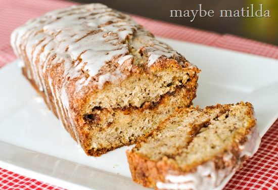 Delicious! Cinnamon Swirl Banana Bread