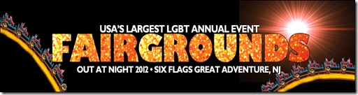 Six Flags LGBT Night 2012