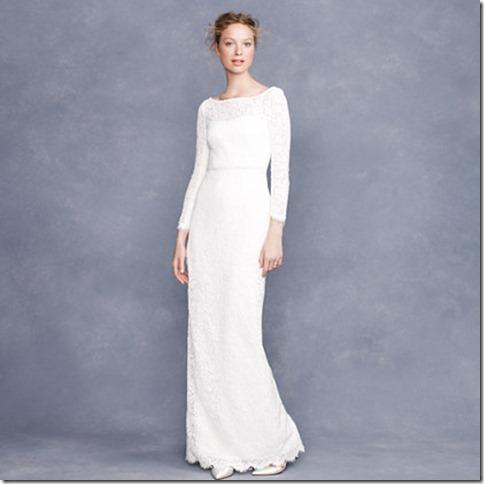 vestido de noiva j crew