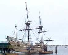 Mayflower boat