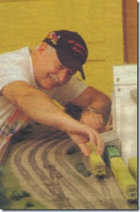 Longview, Kelso & Rainier Model Railroad Club Member Al Peffley in 2005