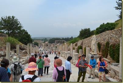 Ephesus Curetes Street crowded