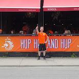 Hup Holland Hup banner in Toronto, Ontario, Canada