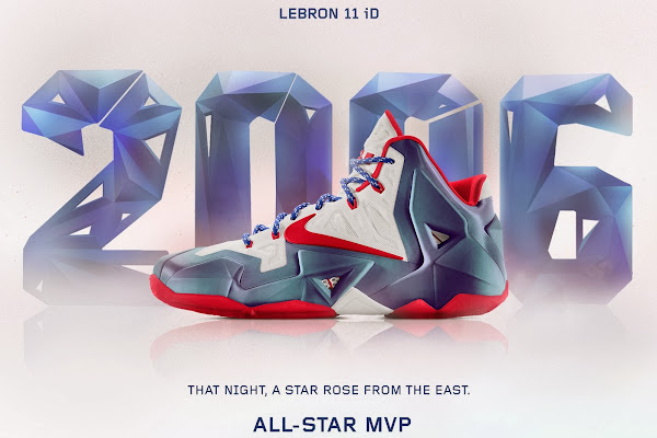 A Decade of Moments  NIKEiD LeBron XI 8220AllStar Game MVP8221