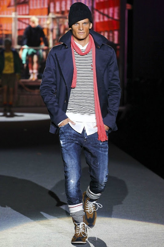 Milan Fashion Week Primavera 2012 - Dsquared² (1)
