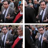 Pas content, Max Brisson secretaire départemental de l'UMP, et il le fait savoir
