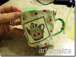 artemelza - xicara porta chá -93