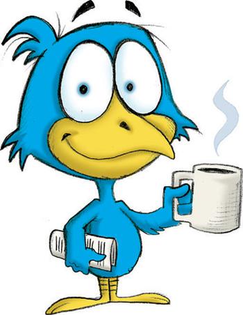 morning bird image