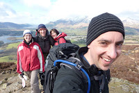 All of us on Walla Crag
