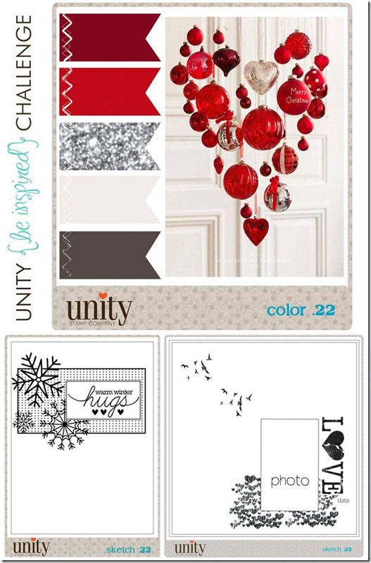 Month Unity {be inspired} Challenge