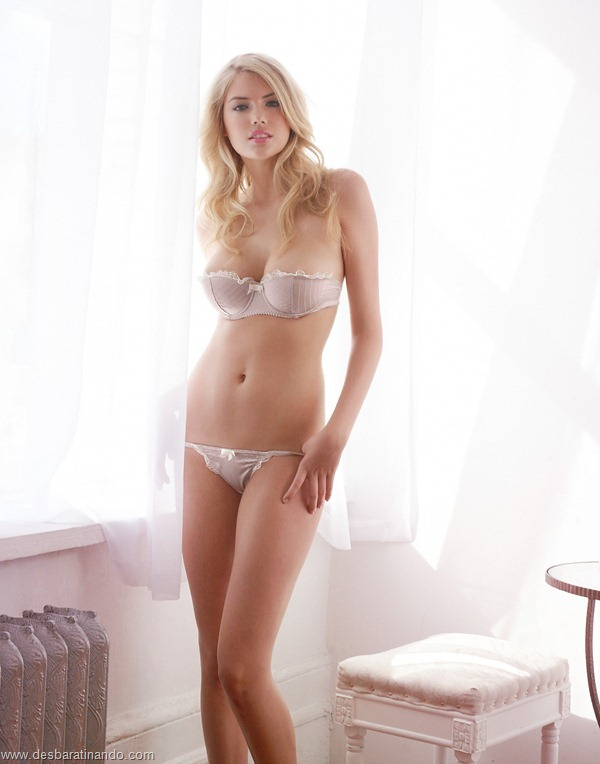 Kate Upton for Jenna Leigh Lingerie - photographed by Michael David Adams