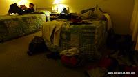 Rettung ins Motel komplett durchnässt