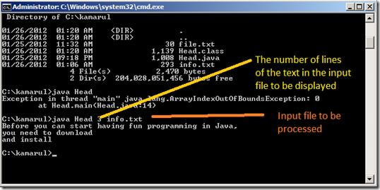 run Java Bytecode using JAVA