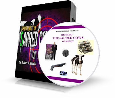 MATANDO LAS VACAS SAGRADAS DEL DINERO (Shooting the Sacred Cows of Money), Robert Kiyosaki [ Video DVD ] – Rompiendo nuestros mitos culturales acerca de dinero