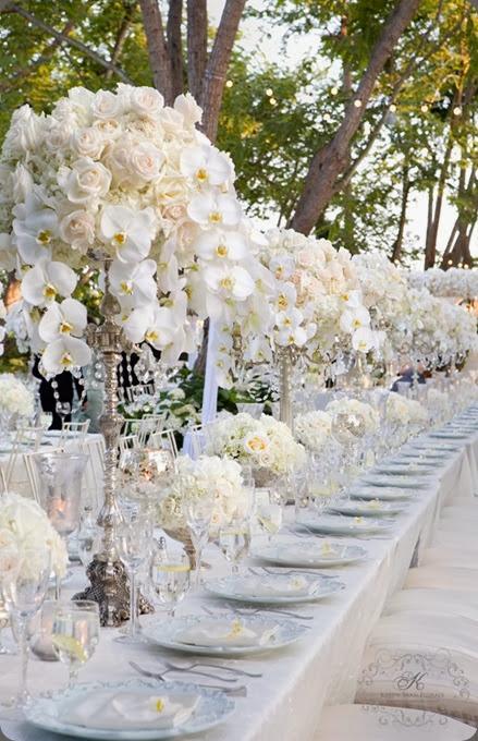 white Vintage-wedding-silver-candelabra-lace-runner karen tran