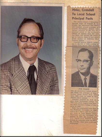 Dad as Principal